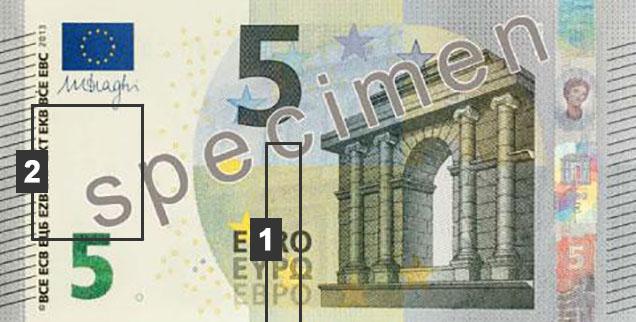 Comment Reconnaitre Les Faux Billets De 5 Euros Manuellement