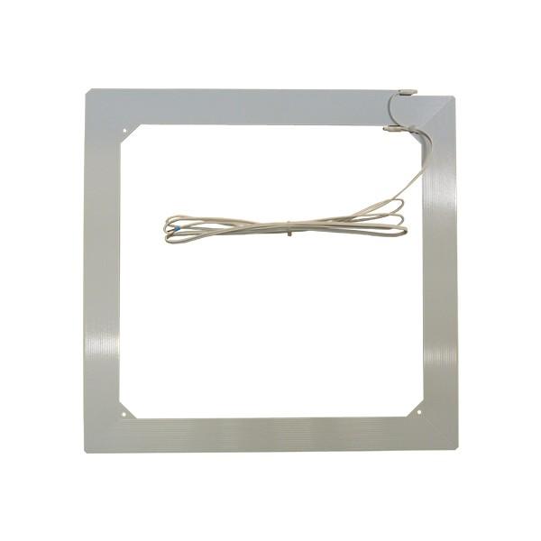 Boucle magnétique à installer sur un interphone de guichet pour les malentendants