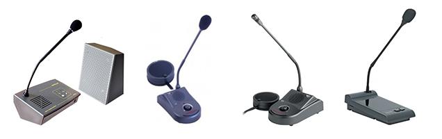 large choix d'interphones de guichets par différents fabriquants