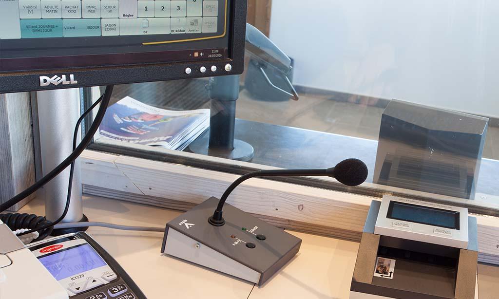 tutoriel installation interphone de guichet UC AEC