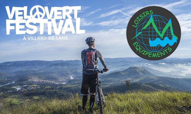 Loisirs Équipements a conçu les bracelets tissus pour le Vélo vert festival!