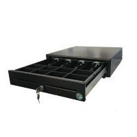 Le tiroir-caisse a une ouverture verticale qui permet de ranger rapidement la monnaie !