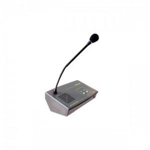 Le micro du côté agent, avec son col de cygne, est un des éléments le plus fragile du pack d'interphonie !