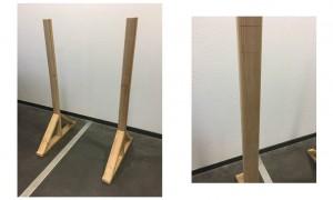 Étape 1 : Installations des montants latéraux !